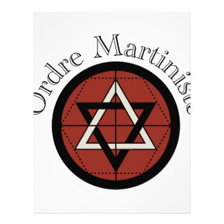 Ordre Mariniste Customized Letterhead