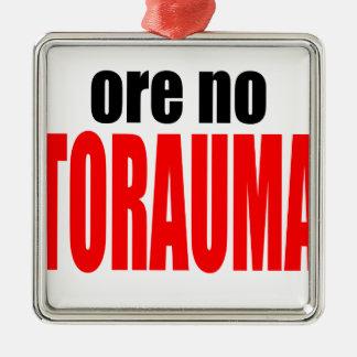 ORE TORAUMA trauma anohana summer japanese end win Metal Ornament