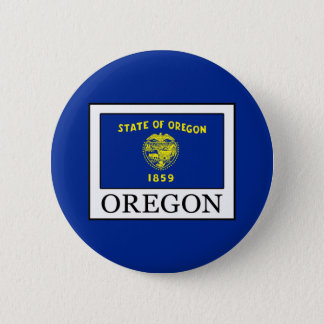Oregon 2 Inch Round Button
