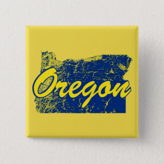 Oregon 2 Inch Square Button