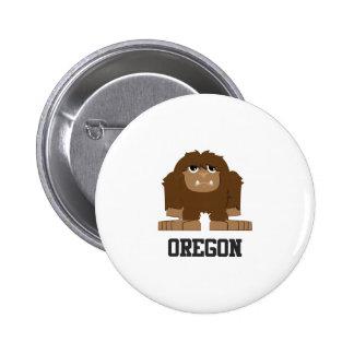 Oregon Bigfoot 2 Inch Round Button