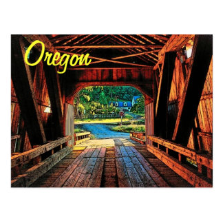 Oregon Bridge Postcard