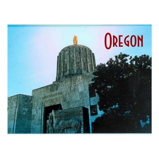 Oregon Capitol Postcard