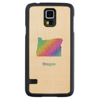 Oregon Carved Maple Galaxy S5 Case