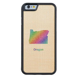 Oregon Carved Maple iPhone 6 Bumper Case