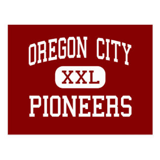 Oregon City - Pioneers - High - Oregon City Oregon Postcard