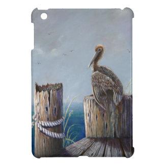 Oregon Coast Brown Pelican Acrylic Ocean Art iPad Mini Cover