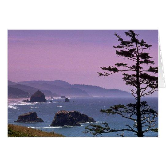 Oregon coast, Ecola State Park, Oregon Card