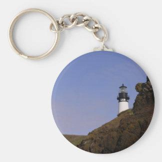 Oregon Coast Lighthouse Keychain