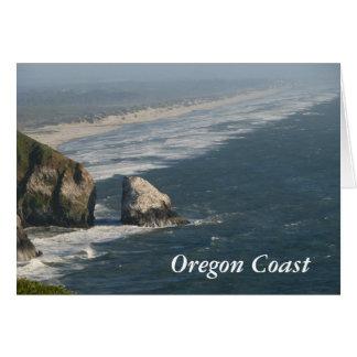 Oregon Coast Rocks Card