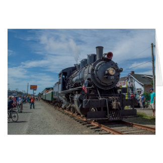 Oregon Coast Scenic Railroad Steam Engine Card