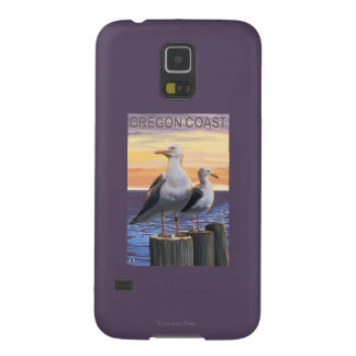 Oregon Coast Sea Gulls Case For Galaxy S5
