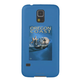 Oregon Coast Sea Otter Cases For Galaxy S5
