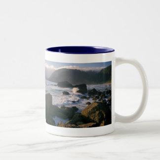 Oregon Coast Two-Tone Coffee Mug