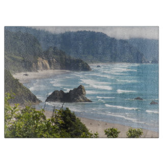 Oregon Coastline Photo Cutting Board