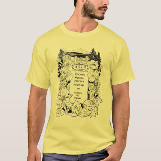 Oregon DNC T-Shirt by Chaz Vitale