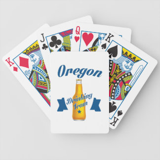 Oregon Drinking team Bicycle Playing Cards