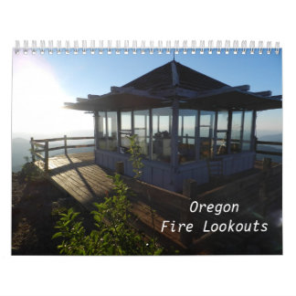 Oregon Fire Lookouts Wall Calendar