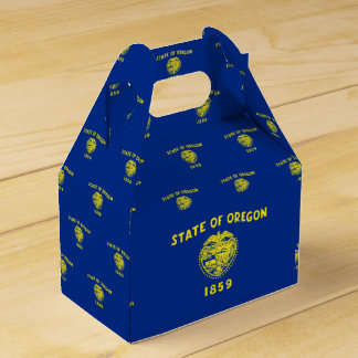 Oregon Flag Favor Box