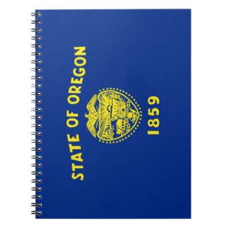 Oregon Flag Notebook