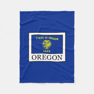 Oregon Fleece Blanket