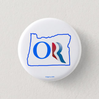 Oregon for Romney button 3