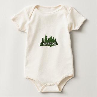 Oregon Forest Baby Bodysuit
