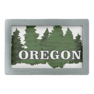 Oregon Forest Belt Buckle