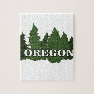 Oregon Forest Jigsaw Puzzle