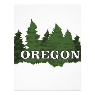 Oregon Forest Letterhead