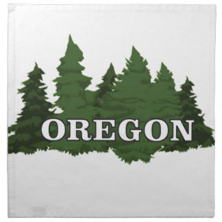 Oregon Forest Napkin