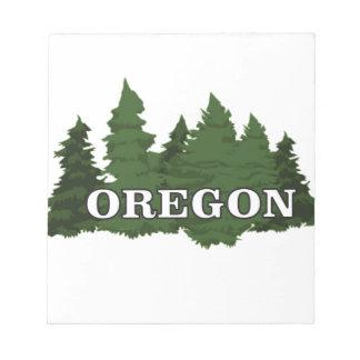 Oregon Forest Notepad