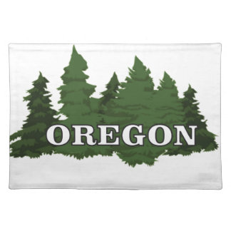 Oregon Forest Placemat