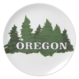 Oregon Forest Plate