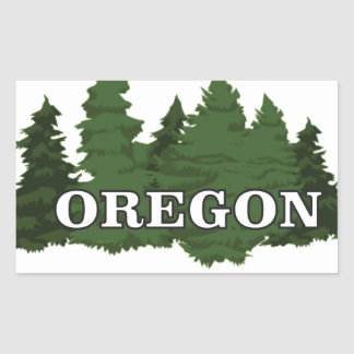 Oregon Forest Sticker