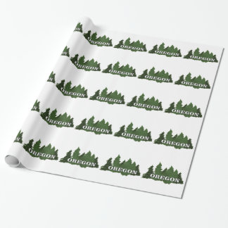 Oregon Forest Wrapping Paper