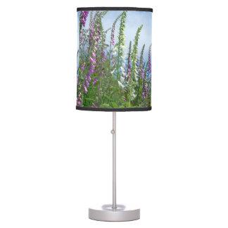 Oregon Foxglove Wildflowers Lamp