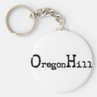 Oregon Hill, Richmond, VA Basic Round Button Keychain