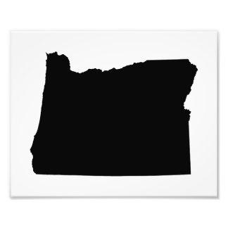 Oregon in Black and White Photo