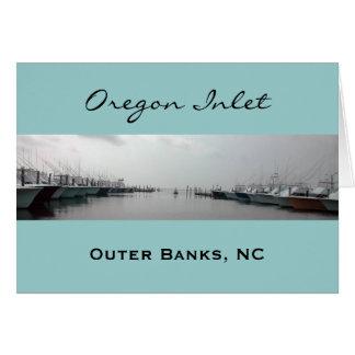 Oregon Inlet Greeting Card