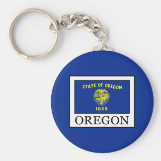 Oregon Keychain