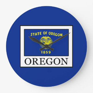 Oregon Large Clock