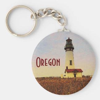 Oregon Lighthouse Keychain