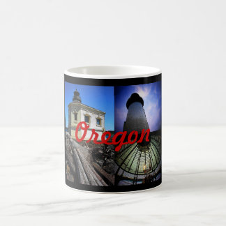 Oregon Lighthouse Montage Mug - Customized