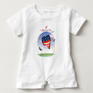 oregon loud and proud, tony fernandes baby romper