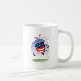 oregon loud and proud, tony fernandes coffee mug