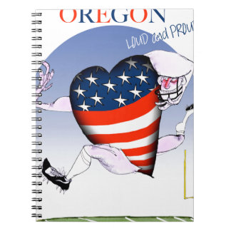 oregon loud and proud, tony fernandes notebooks