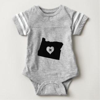 Oregon Love Baby Bodysuit