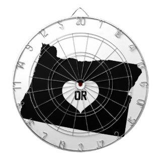 Oregon Love Dartboard