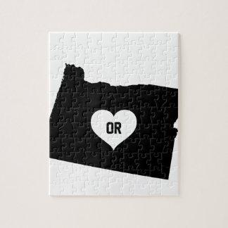 Oregon Love Jigsaw Puzzle